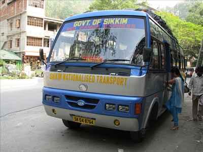 Transport in Gangtok