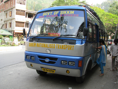 Transport in Gangtok