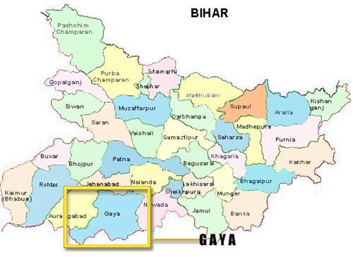 Gaya map