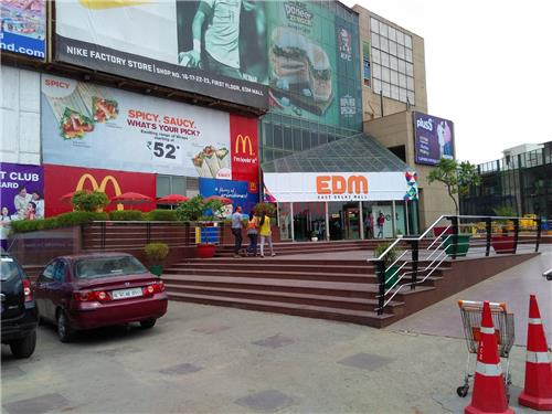 Entrance of East Delhi Mall in Ghaziabad