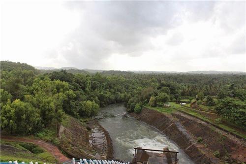 Salaulim Dam in Goa