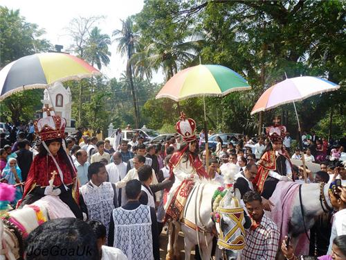 Feast of Three Kings in Goa