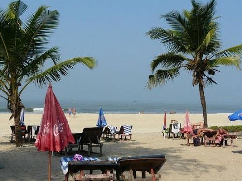 Cavelossim Beach in Goa