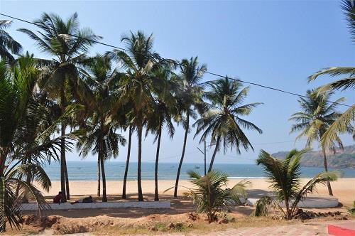 Baina Beach in Goa