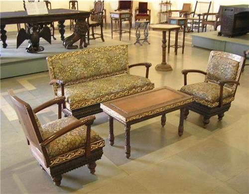 Antique Furniture of Goa State Museum-Credit Goa Tourism