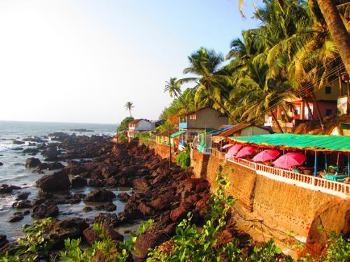Arambol Beach in Goa