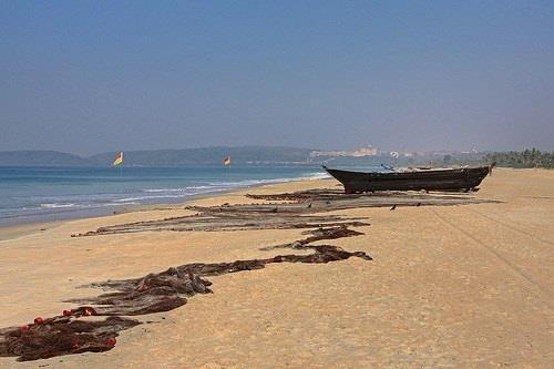 Arossim Beach in Goa