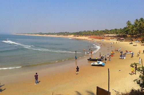 Caranzalem Beach in Goa