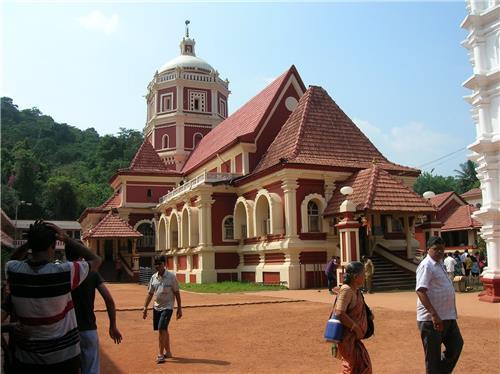 Shree Shantadurga Temple at Ponda-Credit Google