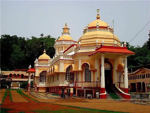 Shri Mangeshi Temple of Ponda Goa-Credit Google