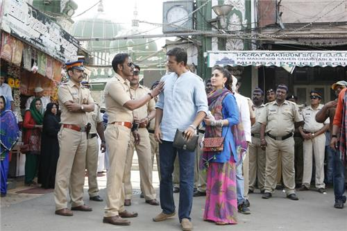 Shooting of Singham Returns