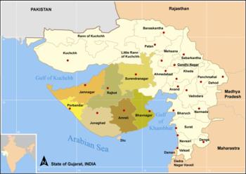 Peninsulas in Gujarat