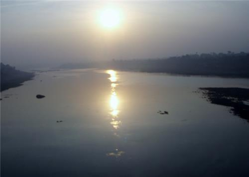 River Narmada in Gujarat