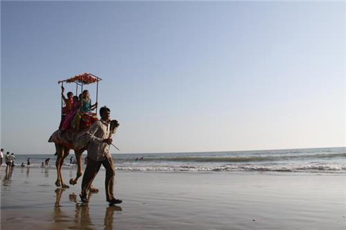 Veraval Somnath Beach in Gujarat
