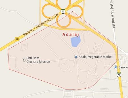 Geography of Adalaj
