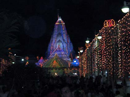 Festivals Held at the Ambaji Temple