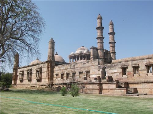 Jama Masjid at Champaner