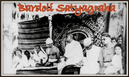 The famous Satyagraha of Bardoli
