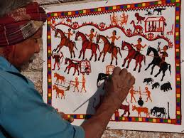 Pithora Paintings by Rathwas