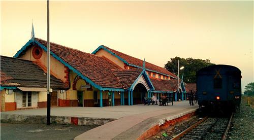 Railway Station at Dhola