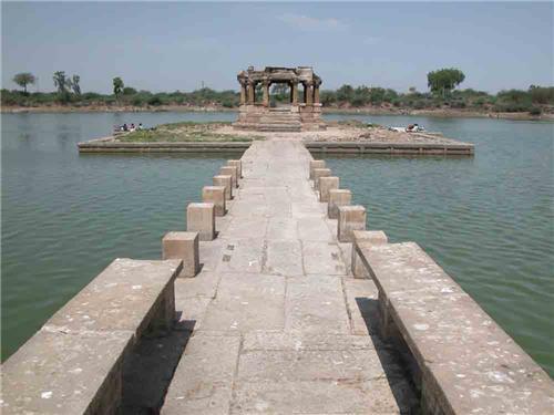 Manav lake in Dholka