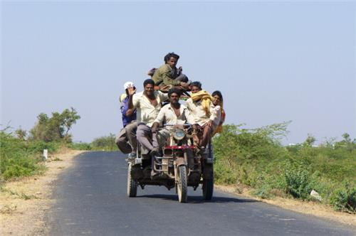 Transportation in Dhrangadhra
