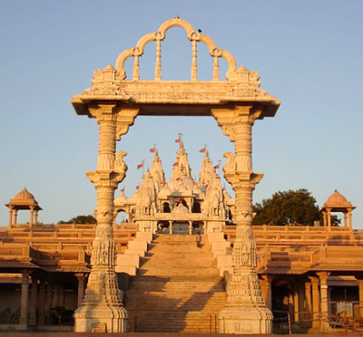 Entrance of Swaminarayan Temple in Gadhada