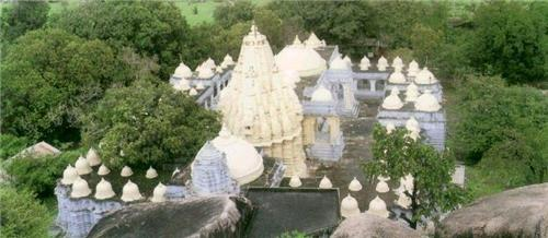 Jain temple in Idar