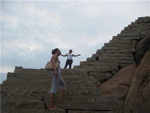 Climbing in Matanga Hill