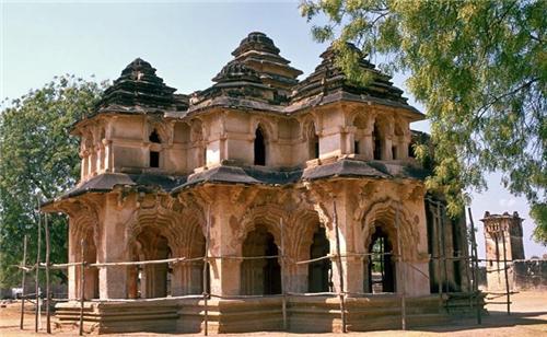 Ruins of Lotus Mahal