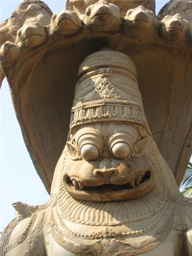 Ugra Narashima Temple, Hampi