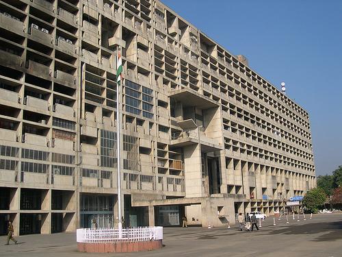 The Civil Secretariat in Chandigarh
