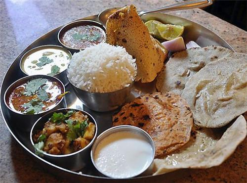 Ingredients in Haryanvi Thali