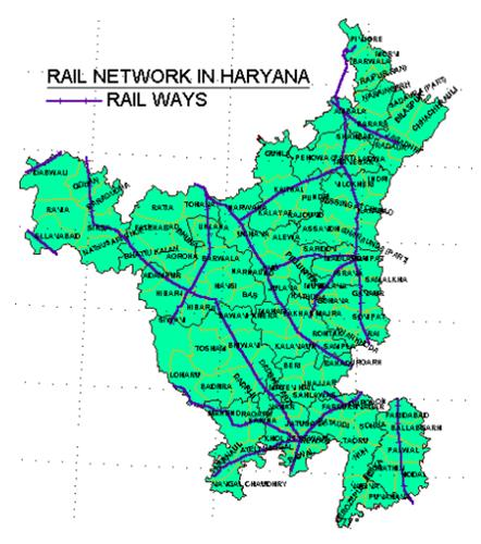 Connectivity in Haryana