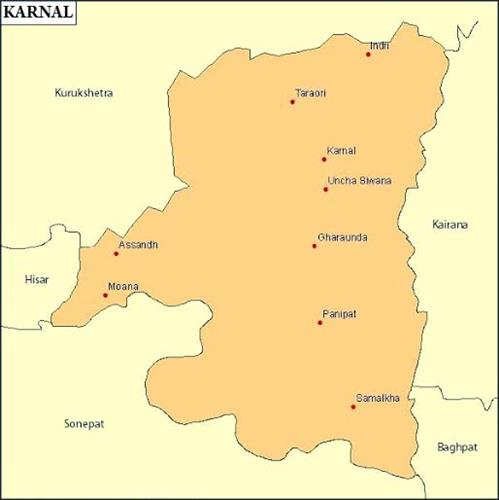 Geography of Karnal