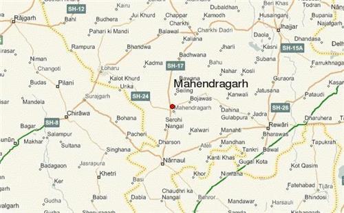 Geography of Mahendragarh