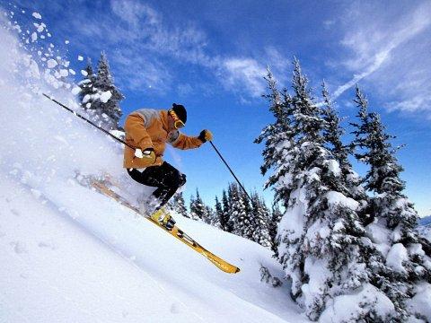 Skiing in Himachal Pradesh State
