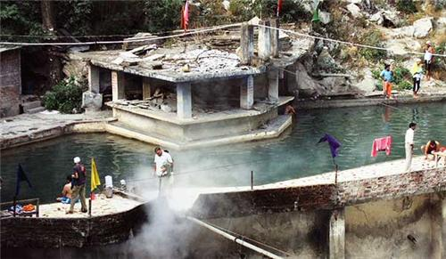 Hot Water Springs at Manikaran