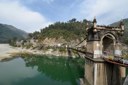Victoria Bridge in Mandi