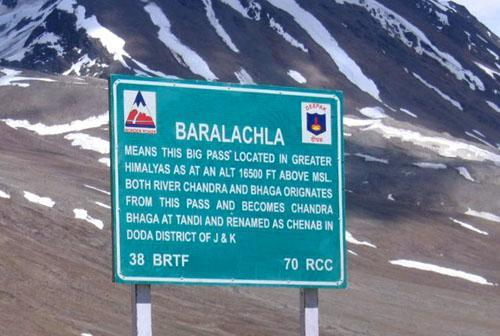 Baralacha in Himachal   Pradesh