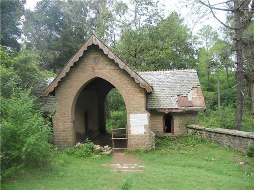 Historical Cemetery in Dagshai