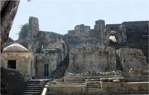 The Historical Fort at Kangra