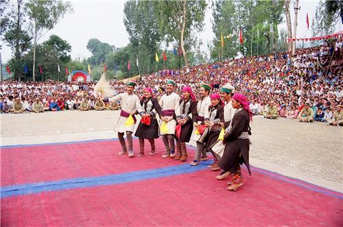 Biswa Being Celebrated at Kangra