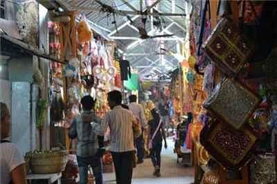Main Market at Kangra