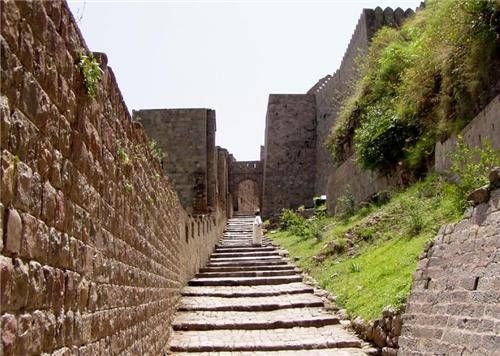 Pathways That Lead to the Top of the Fort