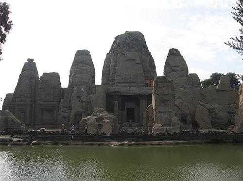 Rock Cut Temple at Masroor