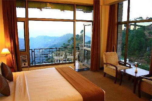 Rooms available in Kasauli Castle Resort