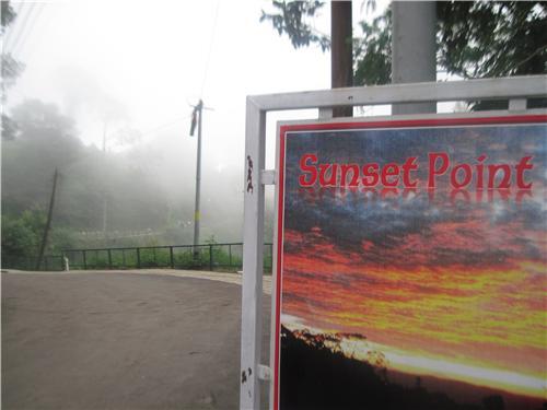 Beautiful tourist spots in tranquility of Kasauli