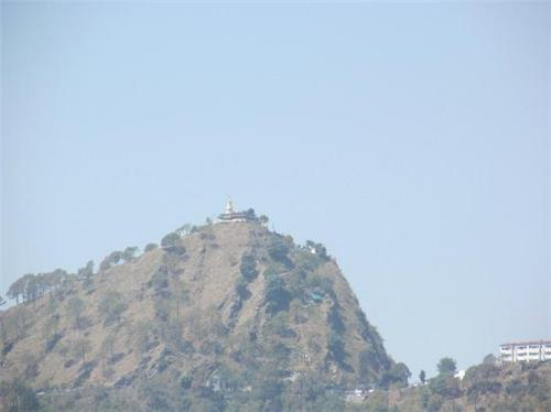 The high hill top called Manki Point in Kasauli