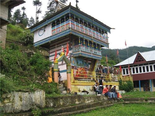 Mahamai temple in Kotkhai